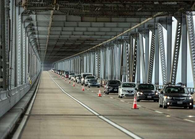 Storms claim first victim: the Richmond-San Rafael Bridge repair