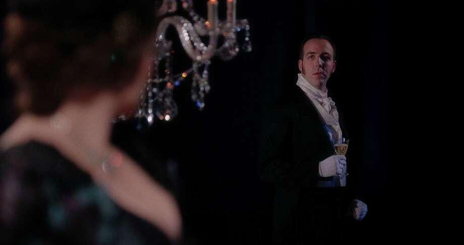 Matthew Cossack as Eugene in the Yale Opera production. Photo: Courtesy Of Yale Opera
