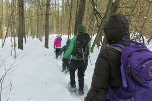 Winter hiking with kids involves special calibration of gear. (Herb Terns / Times Union)