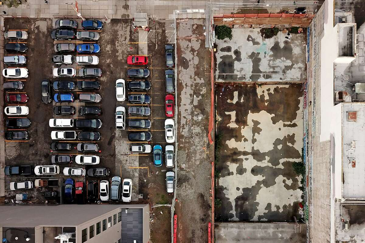 The construction site located at 1554 Market St. on Thursday, Jan. 10, 2019, in San Francisco, Calif.