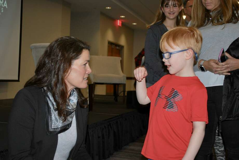 Were you Seen at the Q-and-A with Nancy Kerrigan at the Hearst Media Center on February 7, 2019?   Photo: Silvia Meder Lilly