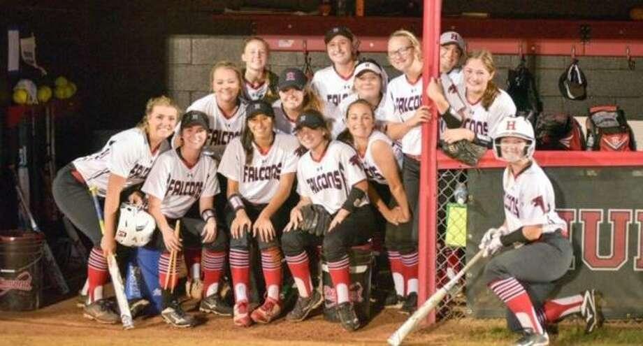 The 2019 Hargrave Lady Falcon softball team Photo: Garrett Gates, Hargrave Softball