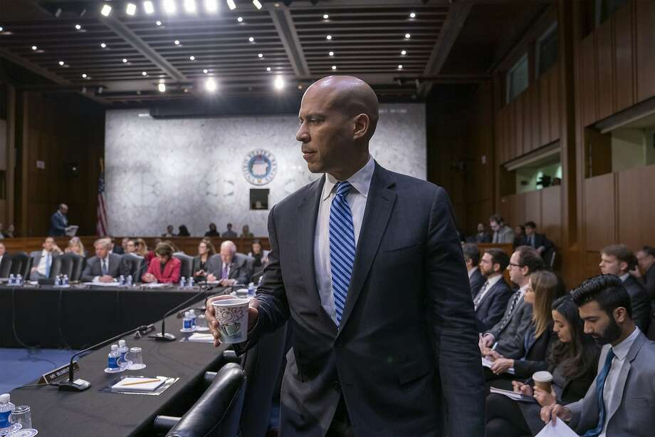 Sen. Cory Booker, D-N.J., is making his first trip to the early 2020 caucus state of Iowa as a presidential candidate. Race is shaping up to be central to the 2020 Democratic campaign. Photo: J. Scott Applewhite / Associated Press