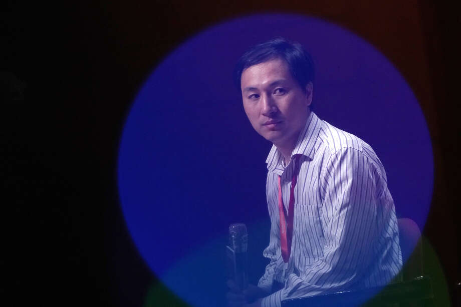 He Jiankui. Photo: Bloomberg Photo By Anthony Kwan / Bloomberg