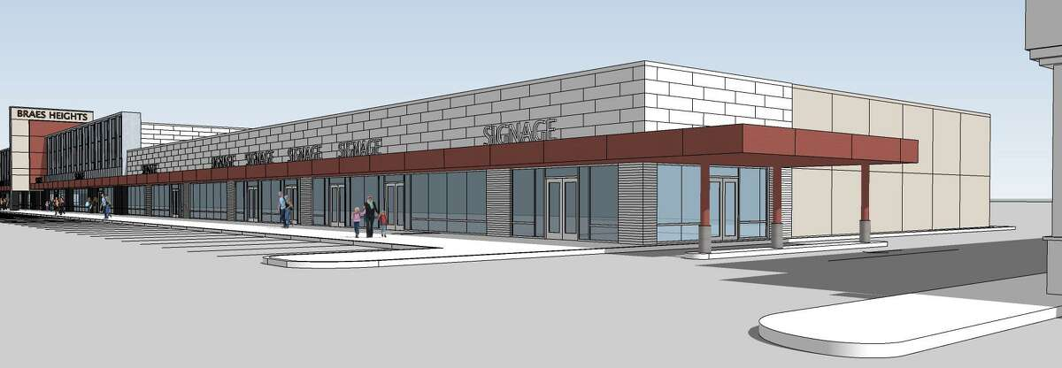 Brixmor Property Group will wrap up a renovation of the Braes Heights shopping center at 3737-3949 Bellaire Blvd. in the second quarter of 2019. The project includes a complete façade renovation and overall site improvements to the parking, landscaping and common areas, and filling some tenant spaces.