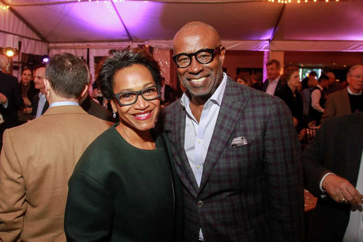 Anita and Gerald Smith at the Memorial Park Conservancy's