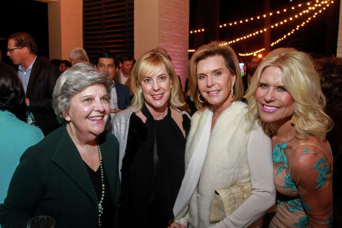 Dona Clay, from left, Kathy Boyd, Trish Millard and Catherine Badger at the Memorial Park Conservancy's