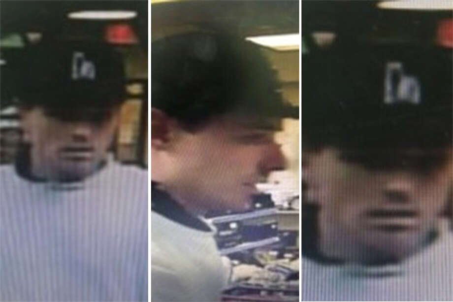 Laredo police said they need to identify this man in connection with a theft that occurred at a local pawn shop. Photo: Courtesy Laredo Police Department