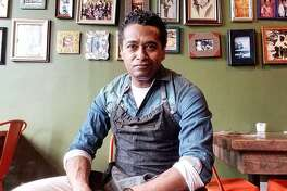 Chris Scott, pictured here in his former Brooklyn restaurant, Butterfunk.