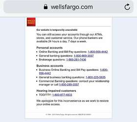 Wells Fargo banking systems breakdown raises new concerns