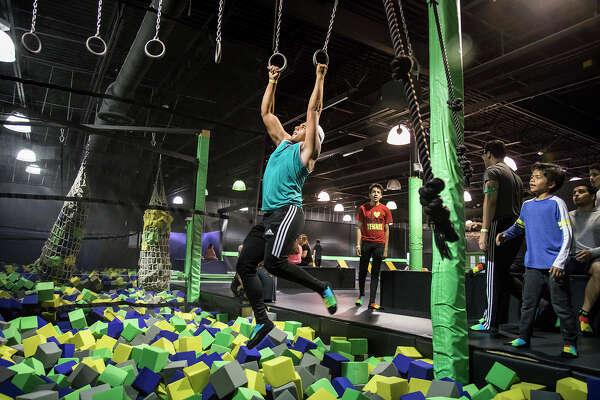 Indoor trampoline park opens at Crossgates Mall ...