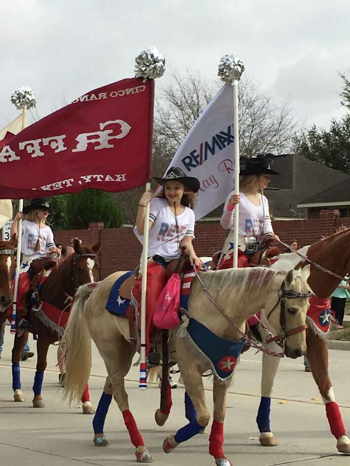 The annual Katy ISD Livestock Show & Rodeo parade will be Feb. 16 along the same route as last year. It will leave Rhodes Stadium at 9:30 a.m. and head down Katyland Drive to Highway 90 and then to Katy High School. Among the parade categories are cowboys/cowgirls. Above, are participants in the 2016 parade. Photo: Karen Zurawski / Karen Zurawski