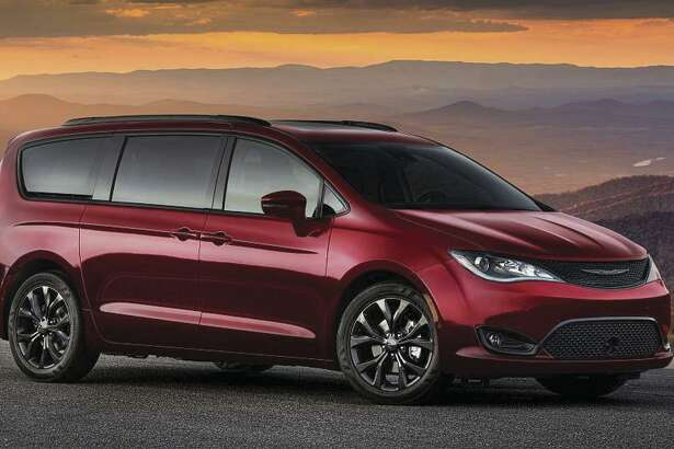 Chrysler's Pacifica gets 287 horsepower from its 3.6-liter V6, is loaded with technology that wasn't dreamed of in the 1980s and pulls down 22 mpg, overall. (Chrysler photo)