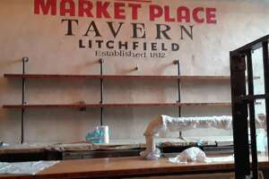 Work on Market Place Litchfield, a new restaurant inside the old Litchfield jail on West Street/Route 202 is progressing, with owners estimating they'll be open sometime in March.