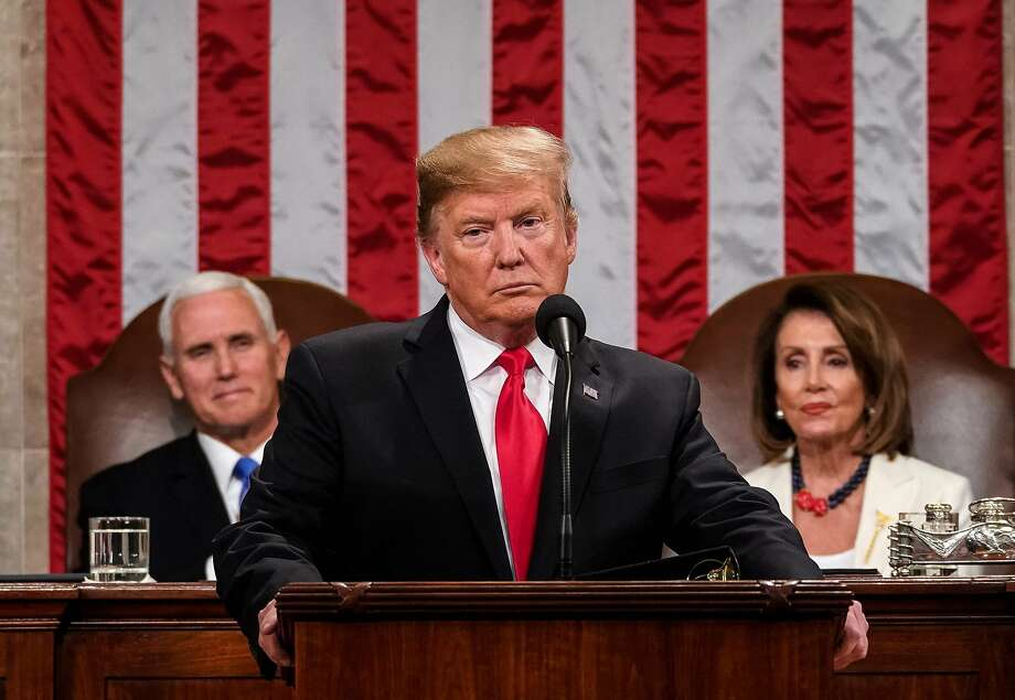 Polling after the State of the Union speech showed that President Trump has once again connected with at least enough voters to make him a 2020 favorite. Photo: Doug Mills / AFP / Getty Images