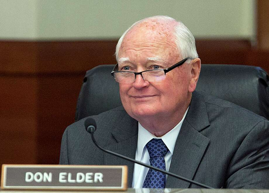 "Don Elder Jr., a member of the Metro board of directors, attends monthly board meetings in Houston. ""As the number of Katy-area residents continues to grow, so too does traffic and congestion,"" said Elder. Photo: James Nielsen, Staff / Houston Chronicle / © 2017  Houston Chronicle"