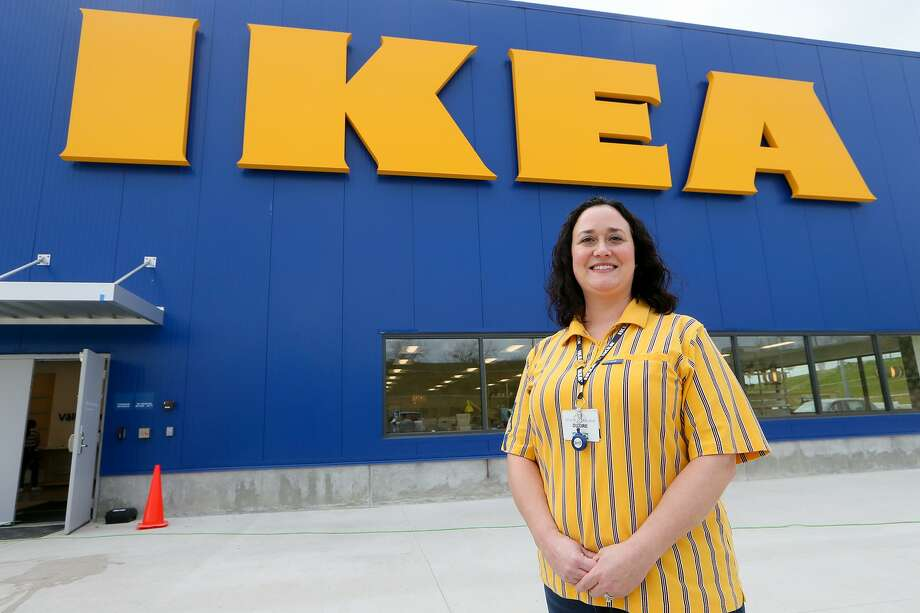 IKEA Live Oak store manager Diedre Goodchild outside the store on a recent morning. Photo: Marvin Pfeiffer /Staff Photographer / Express-News 2019