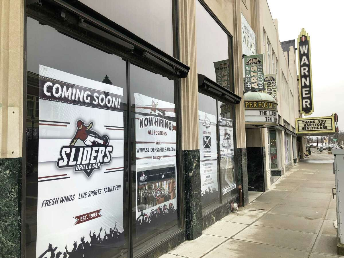 Sliders is opening in Torrington in April. It closed its West Hartford location on Feb. 3.