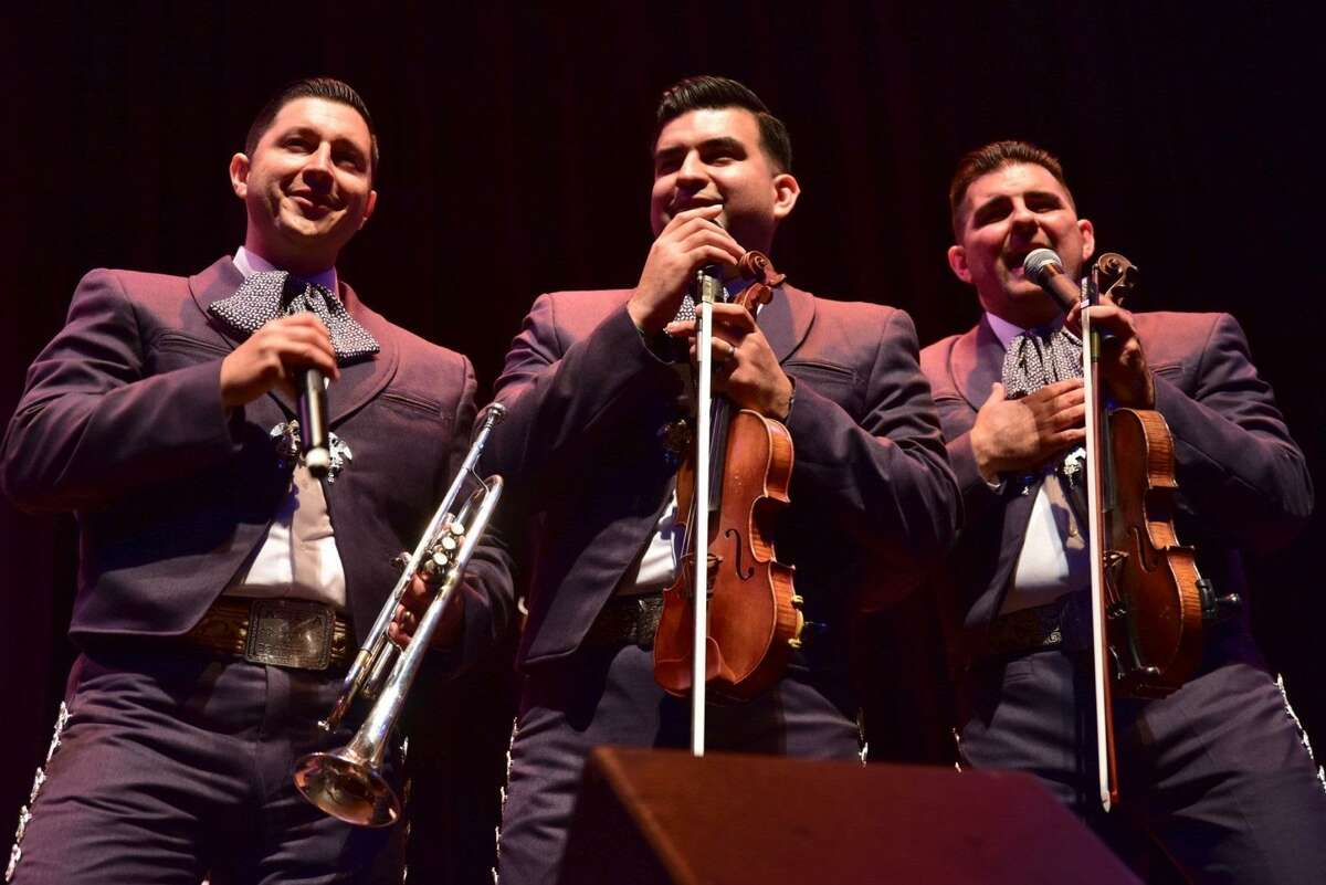 """Mariachi Azteca de America: Mariachi Azteca de America will perform at the Guadalupe Theater for a Valentine's Day concert titled """"Noche de Romance."""" The group, which is led by Gino Rivera, will play Mexican love songs. The program also holds tributes to actor/musician Pedro Infante and singer/songwriter José Alfredo Jiménez. Proceeds will benefit the Guadalupe Cultural Arts Center's traditional music education program, which Rivera leads. 7:30 p.m. Saturday and 5 p.m. Sunday, Guadalupe Theater, 1301 Guadalupe. $25; $150 for table of four, guadalupeculturalarts.org. Info, 210-271-3151. - Deborah Martin"""