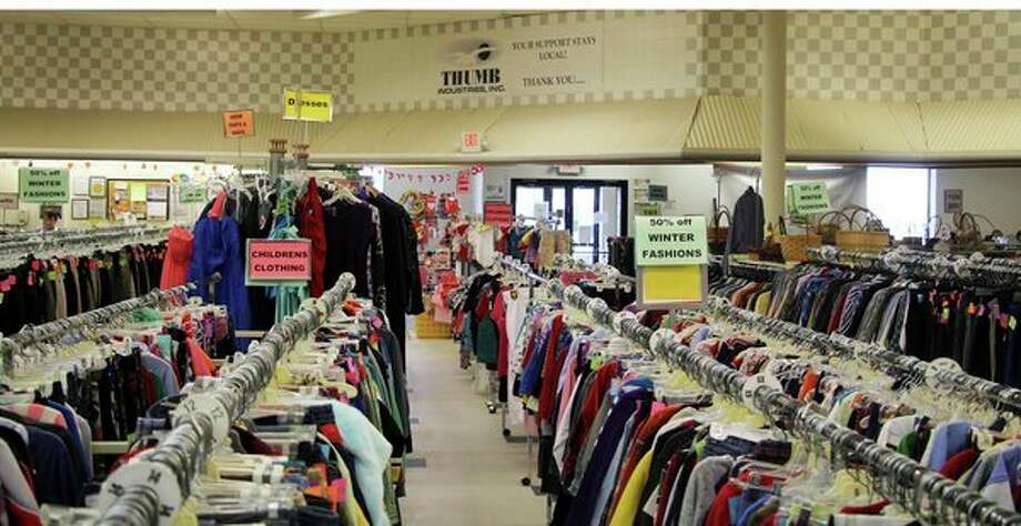 Thrift stores nationwide, including Thumb Industries in Bad Axe, have seen an uptick in donations so far this year. Some believe it could be related to the popularity of the newNetflix series 'Tidying up with Marie Kondo.' (Seth Stapleton/Huron Daily Tribune)