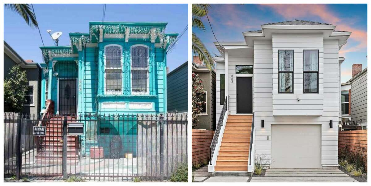 Victorian flip: This West Oakland home at 863 Willow St. is on the market for $1 million after a dramatic redesign.