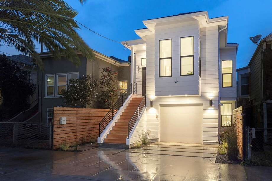 Victorian flip: This West Oakland home at 863 Willow St. is on the market for $1 million after a dramatic redesign. Photo: Courtesy Climb Real Estate