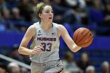 UConn expects star Katie Lou Samuelson back in the lineup on Friday when the No. 2 Huskies open the NCAA tournament against Towson.