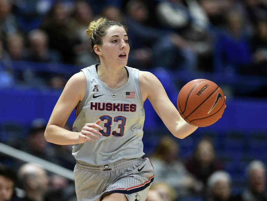UConn's Katie Lou Samuelson is coming off a season-best 31-point performance in Wednesday's 118-55 win over ECU in Hartford. Photo: Stephen Dunn / Associated Press / Copyright 2019 The Associated Press. All rights reserved