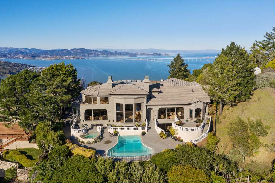 A private gated estate at 11 Place Moulin in Tiburon has extraordinary unobstructed views. Photo: Open Homes