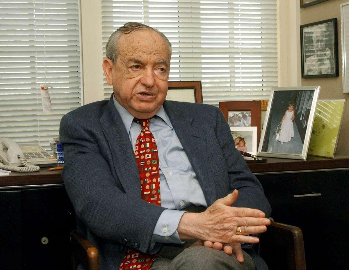 Yale Prof. Edward Zigler, May 5, 2003