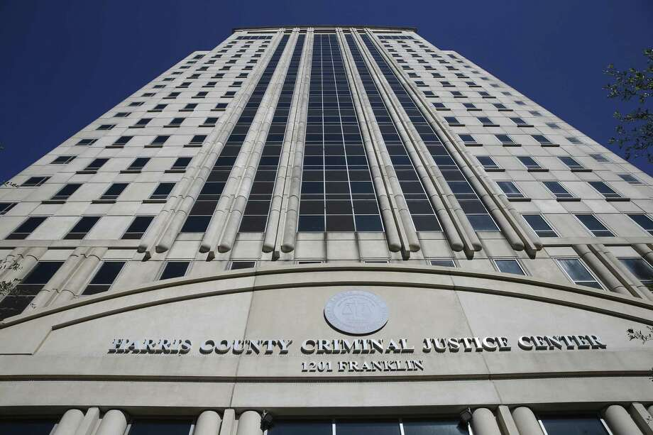 The Harris County Criminal Justice Center, shown here in 2018, is at 1201 Franklin St. in downtown Houston. Photo: Yi-Chin Lee, Houston Chronicle / Staff Photographer / © 2018 Houston Chronicle