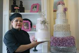 """One in Sugar Land, one in Pearland and one inside (Loop 610),"" said Letty Martinez, owner of Yummy Tummy Pastries, regarding her expansion plans. She said that FamilyTime continues to support her business and in return she donates cakes to the organization."