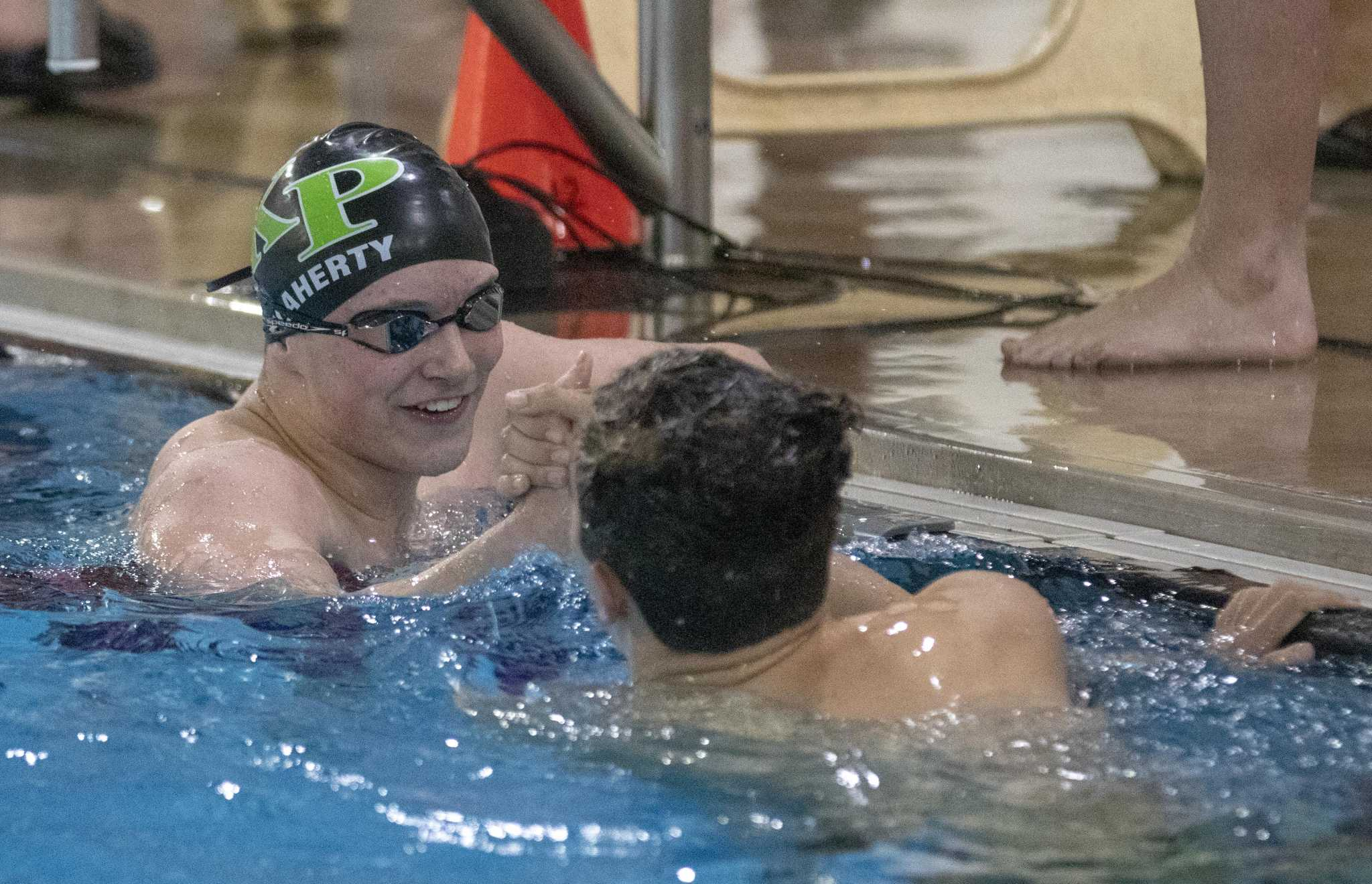Swimming: K-Park boys, girls win District 22-5A title