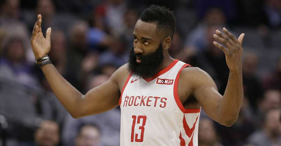 PHOTOS: Rockets game-by-game Houston Rockets guard James Harden waves to the crowd after he was called for a technical foul during the second half of the team's NBA basketball game against the Sacramento Kings, Wednesday, Feb. 6, 2019, in Sacramento, Calif. The Rockets won 127-101. (AP Photo/Rich Pedroncelli) Browse through the photos to see how the Rockets have fared in each game this season. Photo: Rich Pedroncelli/Associated Press