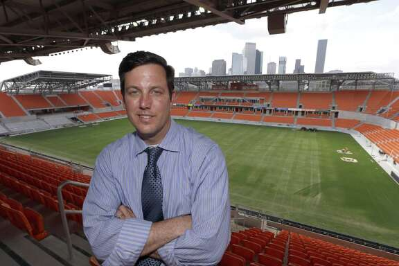 Former Houston Dynamo President of Business Operations Chris Canetti is now president of the Houston Bid Committee for the World Cup 2026.