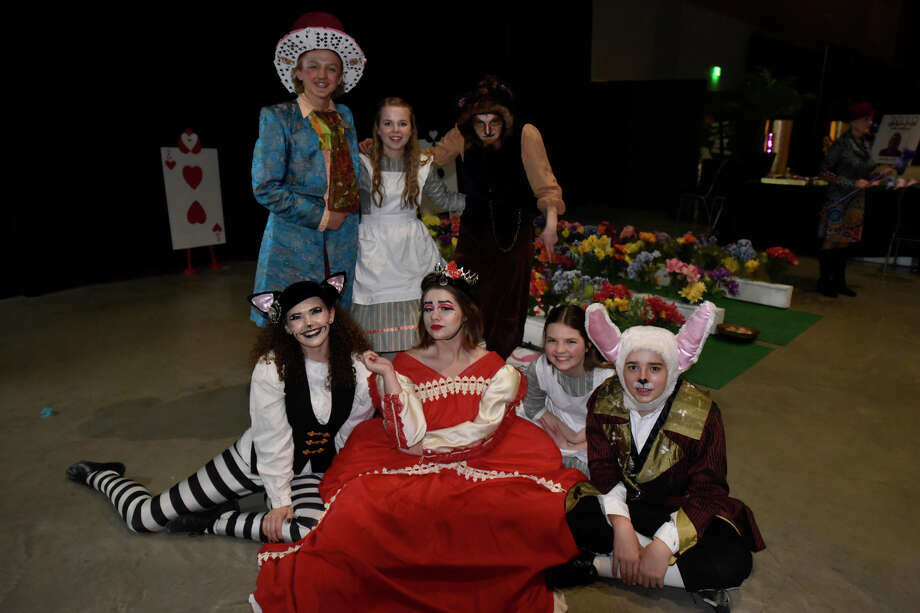 Pickwick Players photographed during Chocolate Decadence, the annual fundraiser for Aphasia Center of West Texas, Feb. 8, 2019 at Horseshoe Pavilion.  James Durbin/Reporter-Telegram Photo: James Durbin / ? 2019 Midland Reporter-Telegram. All Rights Reserved.
