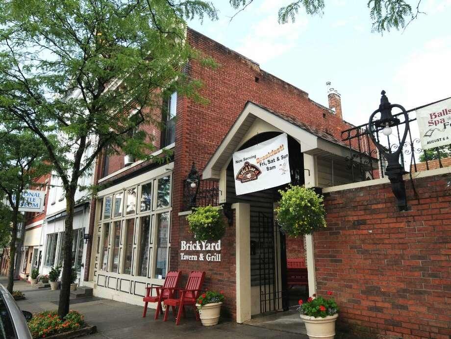 The BrickYard Tavern is on Milton Avenue in Ballston Spa. (Luanne M. Ferris / Times Union) Photo: LMF