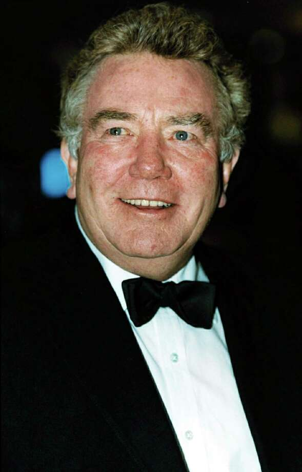 "FILE - In this Feb. 25, 2001 file photo, actor Albert Finney, poses for a photo. British Actor Albert Finney, the Academy Award-nominated star of films from ""Tom Jones"" to ""Skyfall"" has died at the age of 82 it was reported on Friday, Feb. 8, 2019. (William Conran/PA via AP, FIle) Photo: William Conran / PA"