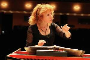Harpsichordist and conductor Jeannette Sorrell