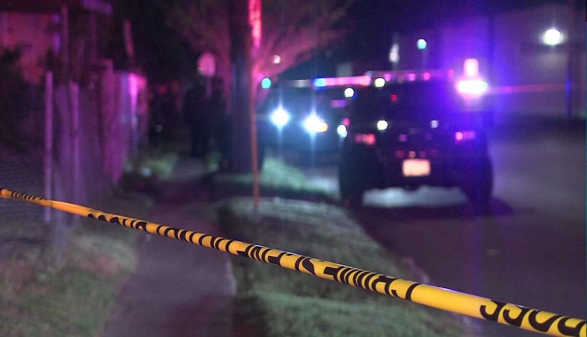 A pedestrian was killed early Sunday when he was struck by two SUVs around 5:10 a.m. near the 17600 block of I-35.