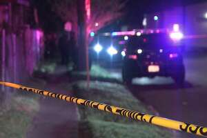 San Antonio police say a woman was seriously injured when an argument between a couple on the East Side ended in a shooting Friday night, Feb. 8, 2019.