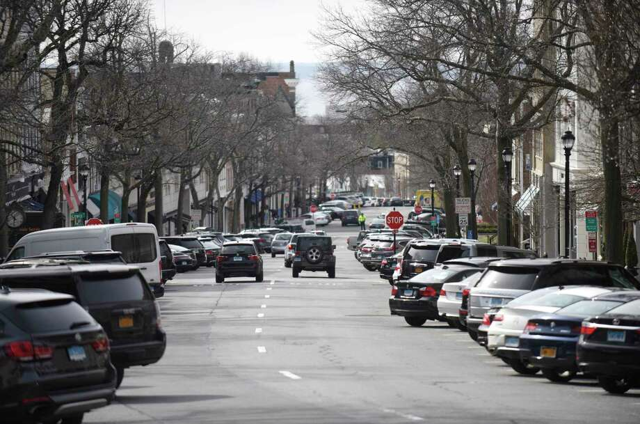 Greenwich Avenue in Greenwich, Conn. Photo: Tyler Sizemore / Hearst Connecticut Media / Greenwich Time