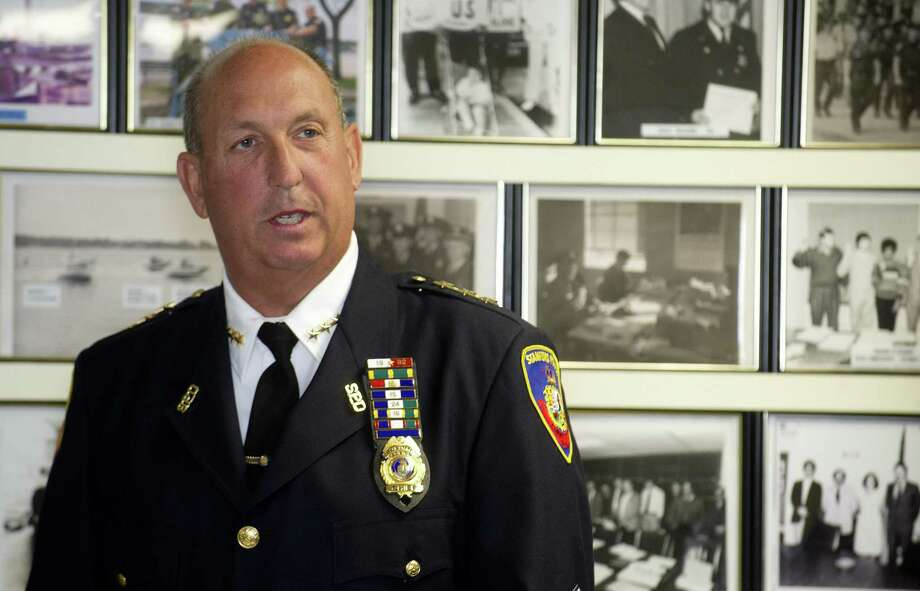 Stamford Police Chief Jon Fontneau will retire this spring. Photo: Staff File Photo / Stamford Advocate