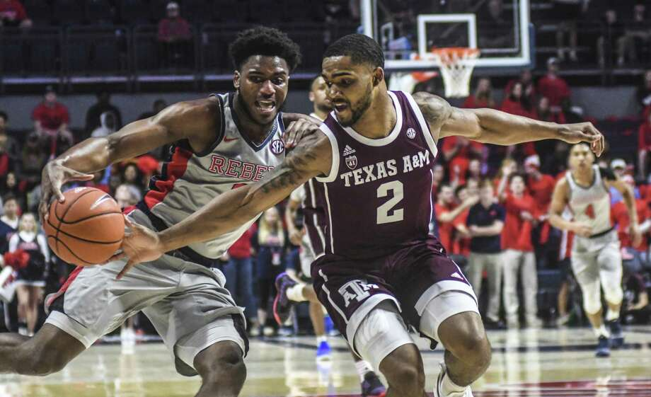 Junior guard TJ Starks has been suspended indefinitely for a violation of team rules, Texas A&M announced Thursday. Photo: Bruce Newman, MBO / Associated Press / ©Oxford Eagle
