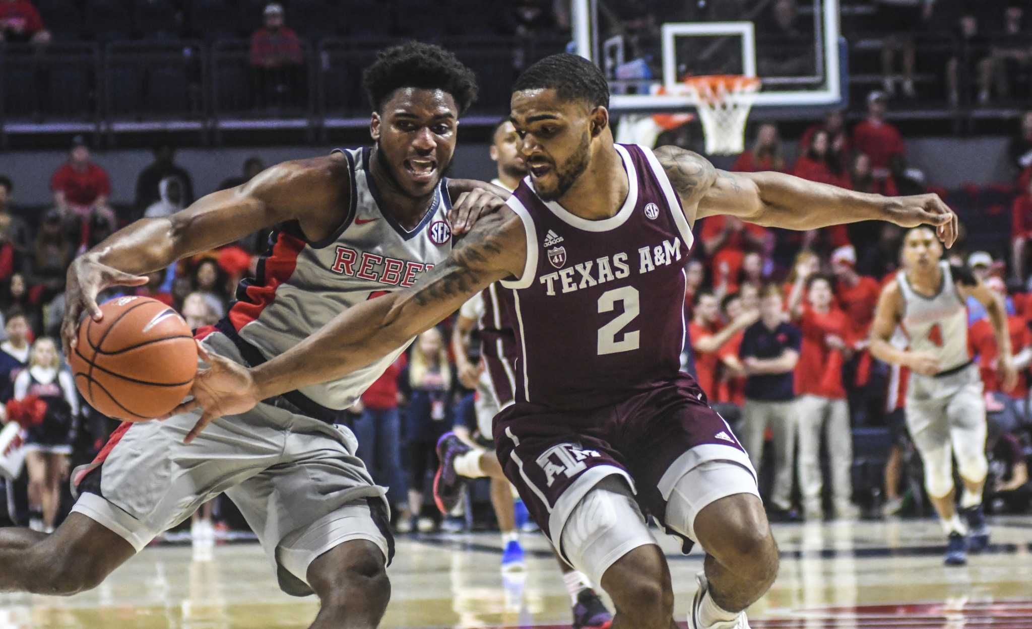 Texas A&M guard T.J. Starks suspended indefinitely