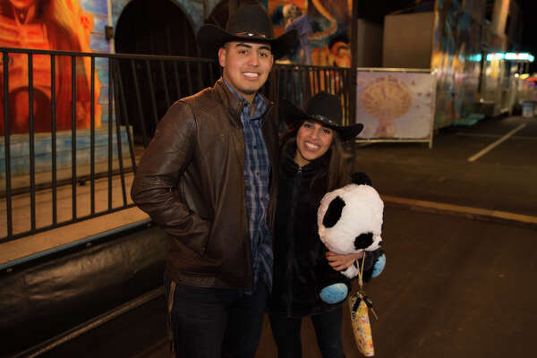 San Antonio said goodbye to a long week with festivities Friday, Feb. 9, at the stock show and rodeo carnival at Freeman Coliseum.