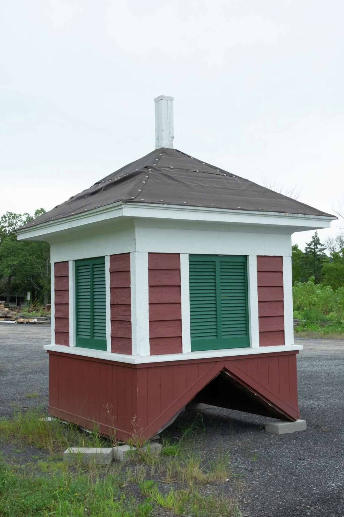 This is the cupola that will be added atop a hay barn being restored at the Bronck Museum in Coxsackie. (Photo provided)