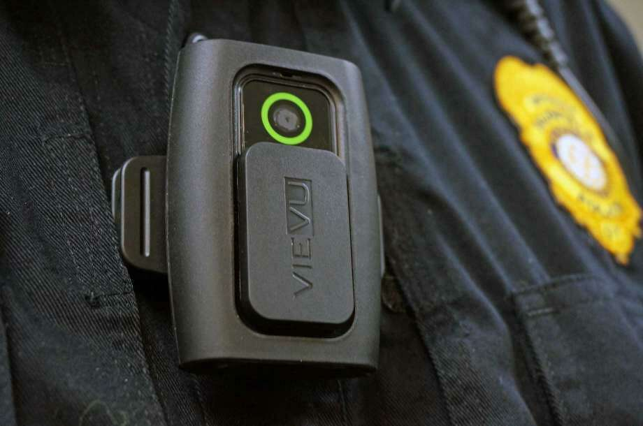 The Precinct 4 Constable's Office purchased five new body cameras for patrol deputies through a $4,800 grant from the East Montgomery County Improvement District. The cameras, which cost $1,000 each, are made by Coban Focus and film in full high-definition color and have infrared eliminators to better capture low lighting. Photo: File Photo / File Photo / Fairfield Citizen