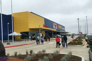 Member's of Ikea's loyalty rewards program were given a special sneak peak of the new San Antonio-area location Saturday afternoon, Feb. 9, 2019.