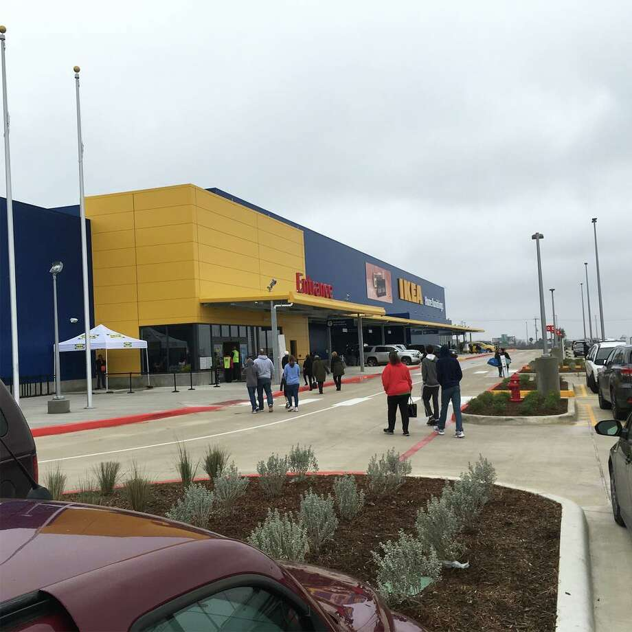 Member's of Ikea's loyalty rewards program were given a special sneak peak of the new San Antonio-area location Saturday afternoon, Feb. 9, 2019. Photo: Courtesy Roger Barr